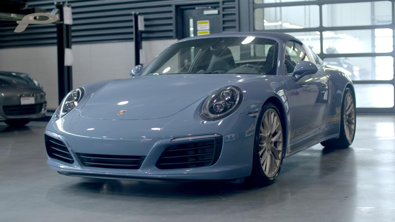 Exclusive Design Edition 911 Targa 4s Porsche Centre
