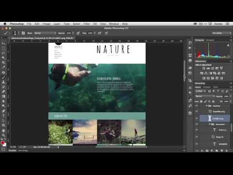How To Create Web Graphics Automatically with the NEW Photoshop CC Generator