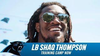 Shaq Thompson Tuesday Practice Sound Web