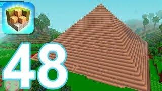 block craft 3d city building simulator gameplay walkthrough part 48 pyramid of giza ios