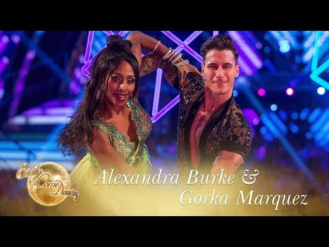 Alexandra and Gorka Samba to 'Shape Of You' by Ed Sheeran - Strictly Come Dancing 2017