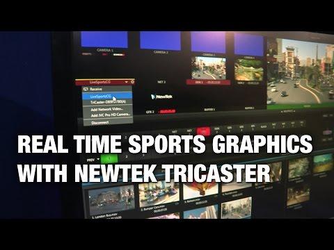 NewTek Developer Network - Sportzcast