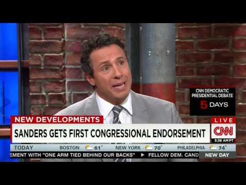 Raul Grijalva Discusses his Endorsement of Bernie Sanders on CNN