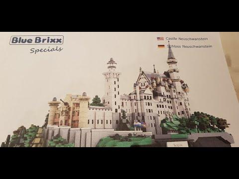 Blue Brixx Schloss Neuschwanstein Unboxing Youtube