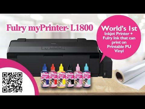Fulry myPrinter- 1800 + Fulry Ink