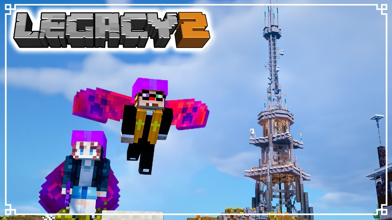CONTROLLING the AIRWAVES - Legacy SMP 2: Episode 3 (Minecraft 1.16 Survival Multiplayer)