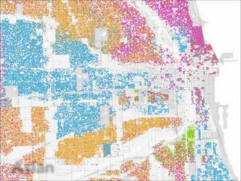 Mapping Social Statistics - Race and Ethnicity in Chicago (Bill Rankin)