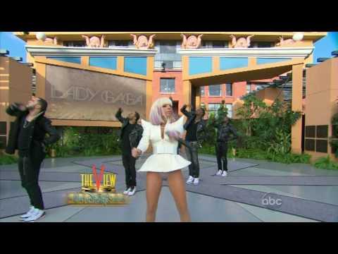 gagadaily com Lady GaGa Just Dance  The View