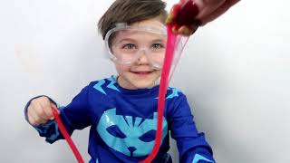 Zack Pretend Play with Surprise Toys Slime for Kids