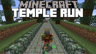 Minecraft HOW TO TELEPORT TO THE TEMPLE RUN DIMENSION!! Minecraft