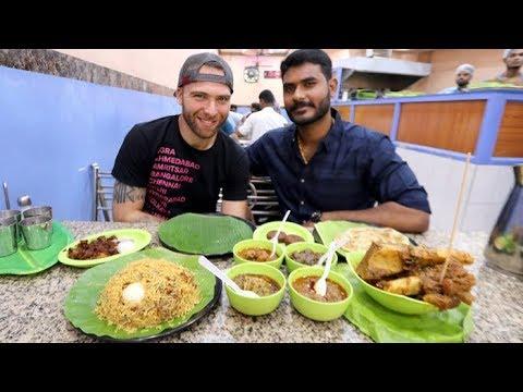 SPICY Southern Indian BEEF FEAST At Sukkubhai Biryani + Filtered Coffee | Chennai, India