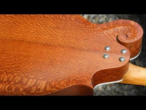 Building A Very Unusual Mandolin - Brazilian Leopardwood