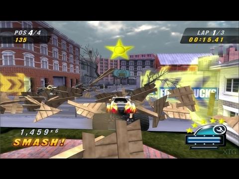 Monster Jam: Urban Assault PS2 Gameplay HD (PCSX2)