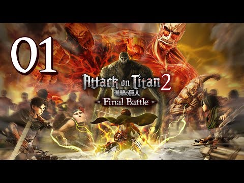 Attack On Titan 2: Final Battle - Walkthrough Part 1: Trap