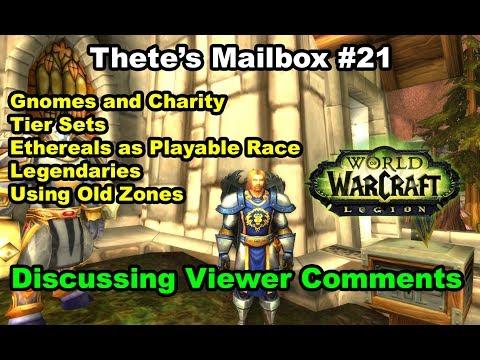 Tier sets, legendaries, ethereals as playable races, etc Thete's Mailbox #21
