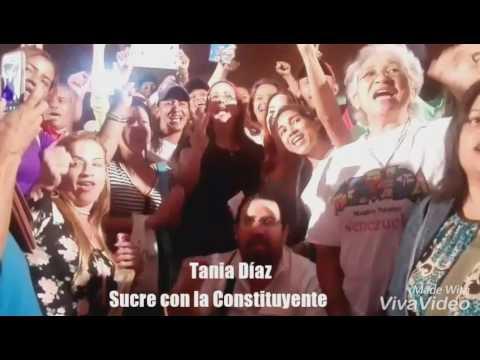 Tania Díaz: En Sucre Somos Constituyente