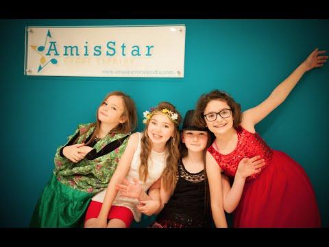 Caitlin's Popstar Party at AmisStar Vocal Studios