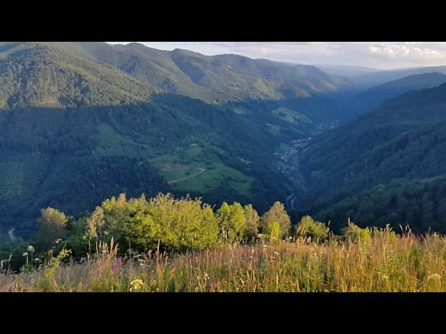 Valea Ierii văzută de sus