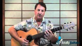 Cannonball Guitar Lesson Preview - Damien Rice
