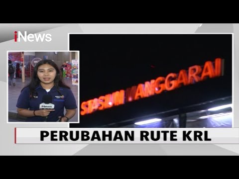 Akibat Perbaikan Prasarana, Perubahan Jadwal Perjalanan KRL Tertunda - INews Pagi 13/02