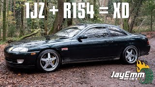 Best. Shifter. Ever.  R154 Manual Swap 1JZ Soarer Review (JDM Legends Tour Pt. 17)