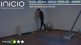 physio session: ANKLE / ACHILLES TENDON with Dominik & Emanuel