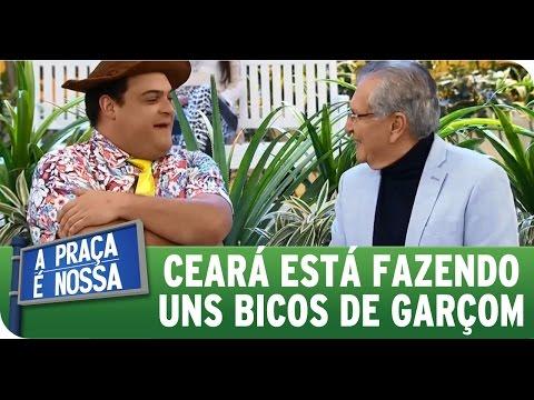 A Praça É Nossa (23/07/15) - Matheus Ceará está fazendo bicos de garçom
