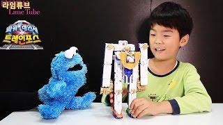 트레인포스 사파리킹 라임오빠 정우의 장난감 놀이 Transformers Toys Play 列車戦隊 Игрушки