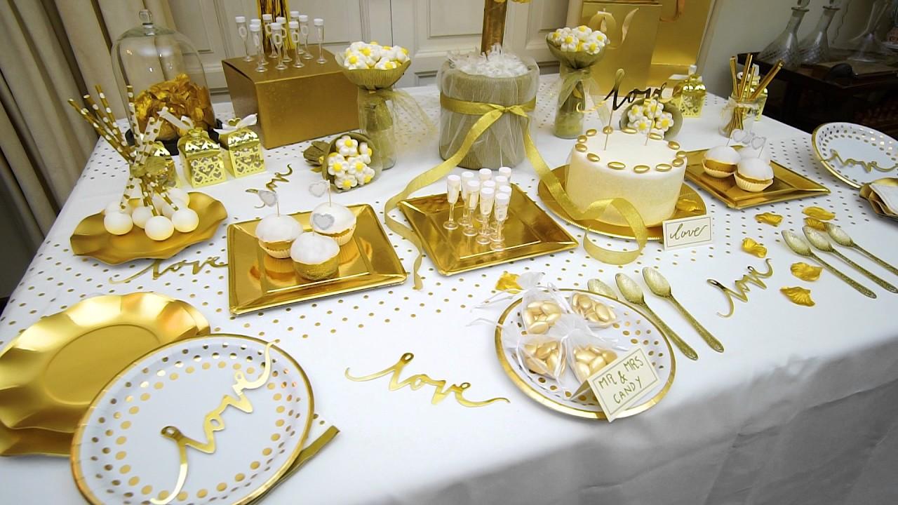 Party fiesta decoraci n para bodas y eventos al aire libre meda dorada youtube - Decoracion para bodas al aire libre ...
