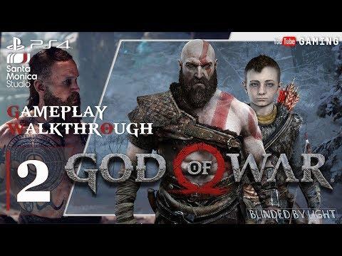 God of War - Chapter 1: The Marked Trees | The Stranger BOSS | Walkthrough Gameplay | Part 2/2