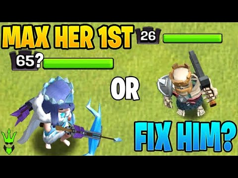 SHOULD YOU MAX THE QUEEN BEFORE THE KING?! - Clash Of Clans