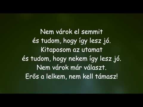 Horváth Tamás - Egyedül megyek tovább dalszöveggel. videó letöltés