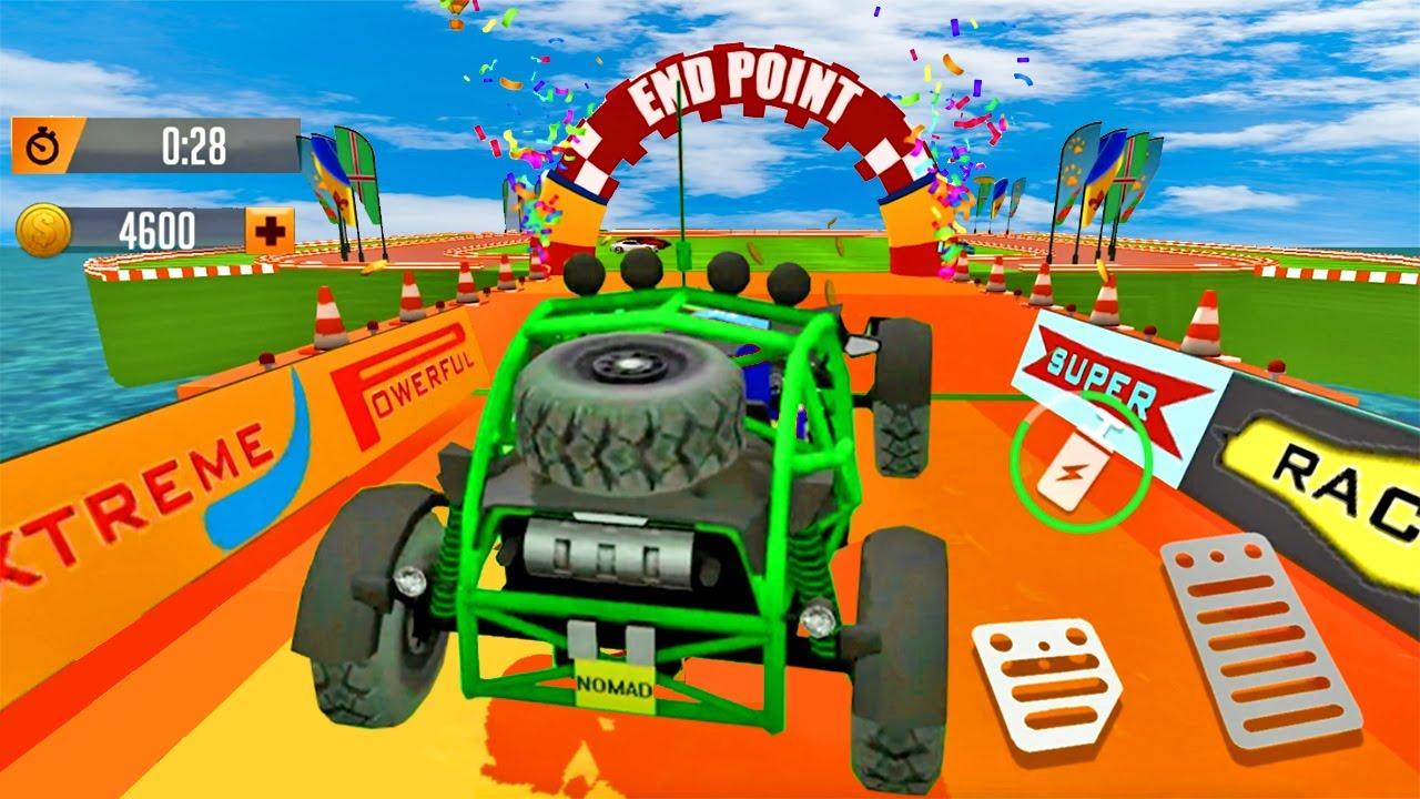 Juegos de Carros - SuperHero Buggy GT Mega Ramp - Carros 4x4 en Megarampas