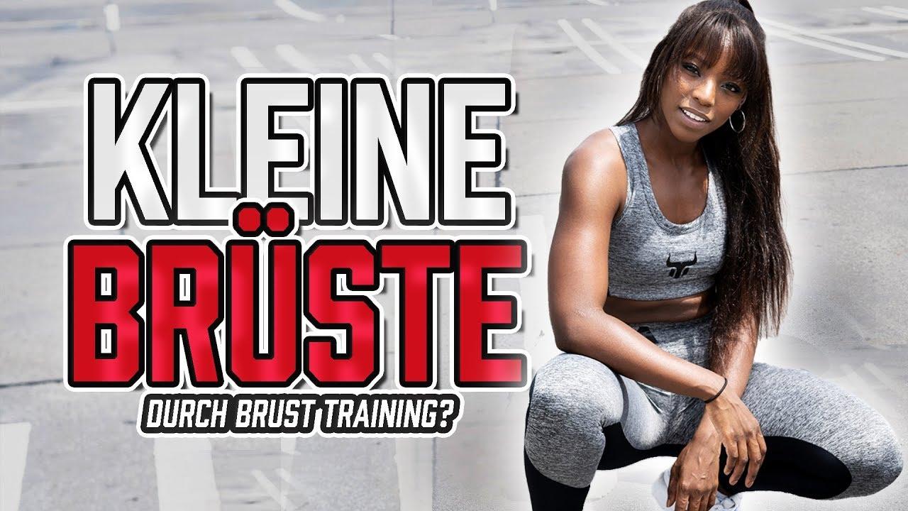 Kleine BRÜSTE durch Brust Training? - YouTube