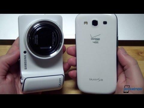 Samsung Galaxy Camera vs Samsung Galaxy S III