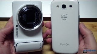 Samsung Galaxy Camera vs Samsung Galaxy S III