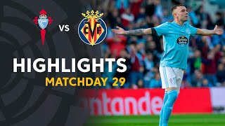 Highlights RC Celta vs Villarreal CF (3-2)