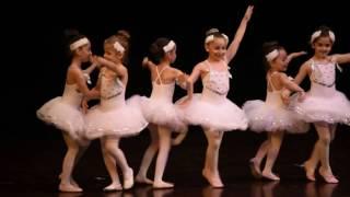 Aytunç Bentürk Dans Akademi gösteriler 2016 BALE 6-7 yaş MİNİK KUĞULAR