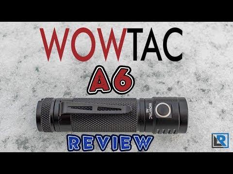 Wowtac A6 Review (1460 Lumens, Super Small & affordable 18650 EDC Flashlight)