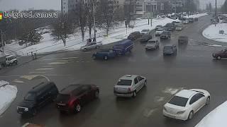 ДТП Mini Cooper & Почта России. 22/03/2018.