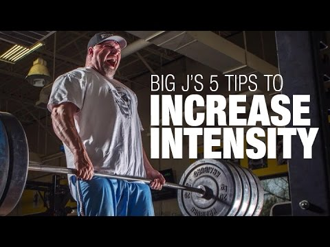 5 Tips to Increase Training Intensity with Big J