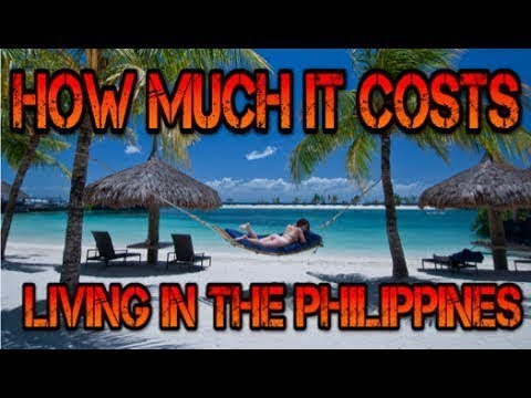 Philippines Cost of Living 2018 - Price of Rent Electric Water Food & More ✅