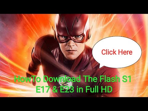 Download How to download the flash season 1 episode 17 and 23 full hd movies in (hindi)   technical service