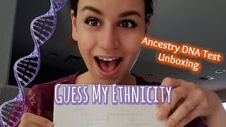 Guess My Ethnicity, Ancestry DNA Test Unboxing