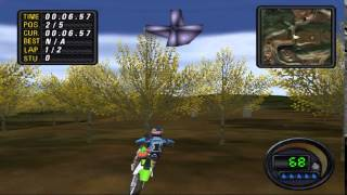 GCN Jeremy McGrath Supercross World DOL-GSCE-USA GamePlay PSXPLANET.RU
