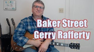 Baker Street by Gerry Rafferty (Guitar Lesson with TAB)