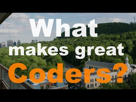 What makes a great coder?