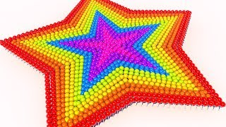 Teach Colors with Star and 3D Lollipops