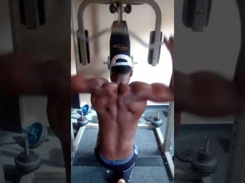 Mr Hudson's effective back workout