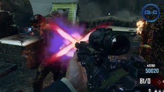 BLACK OPS 2 Nuketown Zombies Gameplay! - Pack A Punch & Perks! Call of Duty Zombie Nuketown